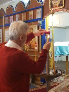 Прибытие Благодатного Огня - Церковь Рождества Пресвятой Богородицы